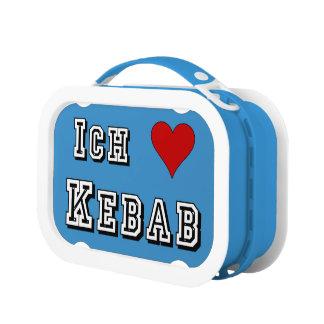 Ich Liebe Kebab I愛kebabのDeutscheのドイツ語 ランチボックス