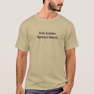 Ich Liebe Krautの石 Tシャツ