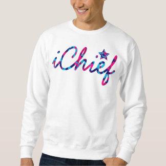 iChiefSociety -熱狂するな迷彩柄のカメオ スウェットシャツ