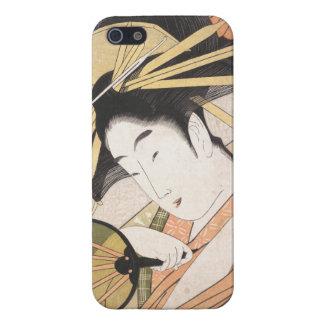 Ichirakutei Eisui美しいの日本の東洋の女性 iPhone 5 ケース