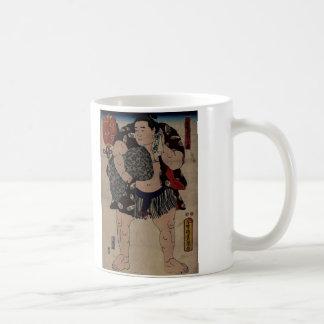 Ichiriki相撲のレスリング選手 コーヒーマグカップ