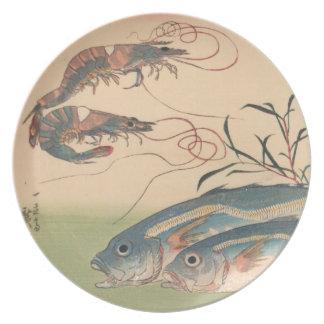 Ichiryusai Hiroshigeのプレート プレート