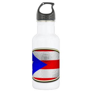 Ichthus -プエルトリコの旗 ウォーターボトル
