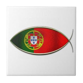 Ichthus -ポルトガルの旗 タイル
