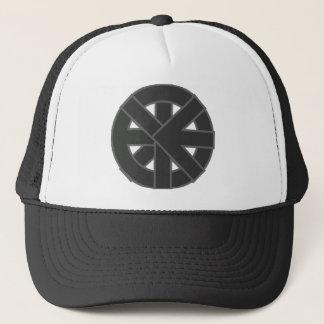 Ichthysの車輪の記号 キャップ