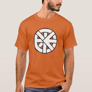Ichthysの車輪の記号 Tシャツ