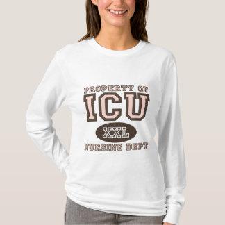 ICUのナースのフード付きスウェットシャツの特性 Tシャツ