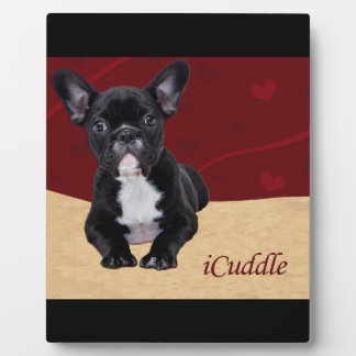 iCuddleのフレンチ・ブルドッグ フォトプラーク