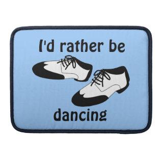 IDはむしろ振動ダンスの靴Macbookを踊っています MacBook Proスリーブ