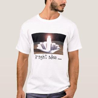 Ideのlumineuse (完全なHD)、明るいアイディア… Tシャツ