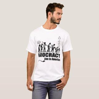 Idiocracyは生きま、よく米国に! Tシャツ