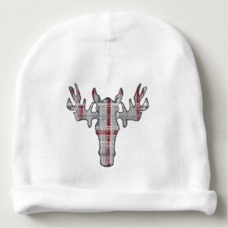 idyl-wyldのクリエイティブによる素朴な格子縞のアメリカヘラジカの帽子 ベビービーニー
