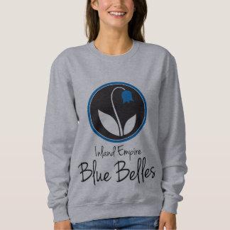 IEの青い美女のスエットシャツ スウェットシャツ