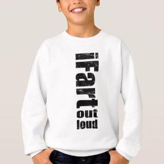 iFartの騒々しい洗浄景色 スウェットシャツ