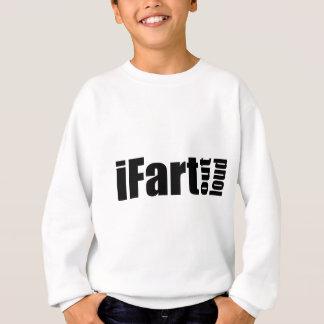 iFartは-明白に荷を積みます スウェットシャツ