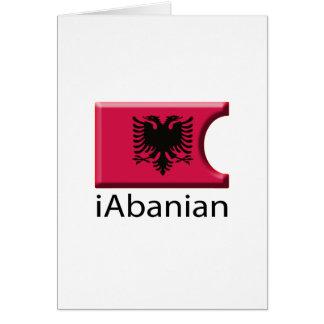 iFlagアルバニア カード