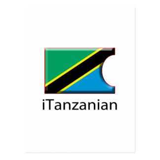 iFlagタンザニア ポストカード