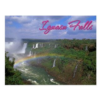 Iguacuの滝、ブラジル ポストカード