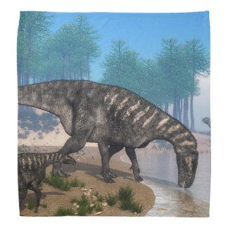 Iguanodonの恐竜 バンダナ