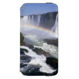 Iguassuの滝、Paranaの国家、ブラジル。 空中写真 Incipio Watson™ iPhone 5 財布型ケース
