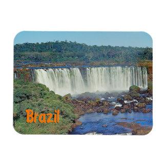 Iguasuの滝、ブラジル マグネット