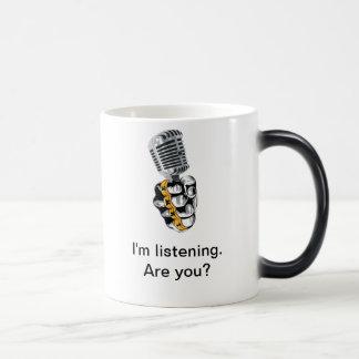 IHWEのラジオの変形させるマグ モーフィングマグカップ