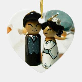 IIを結婚するKokeshi セラミックオーナメント