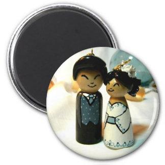 IIを結婚するKokeshi 磁石