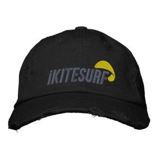 iKの黒く動揺してな帽子 刺繍入りキャップ