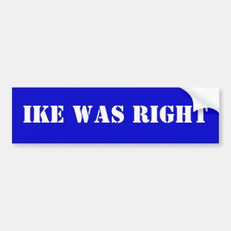 Ikeは正しかったです バンパーステッカー
