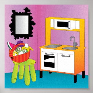 Ikeaはフルーツポスターをからかいます ポスター