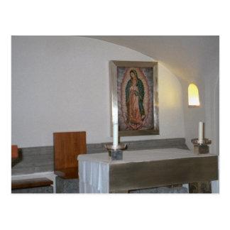 ikonの地下墓地の祭壇 ポストカード