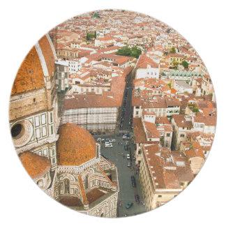 Ilの大教会堂のディディミアムフィレンツェ-フィレンツェ--のドーム プレート