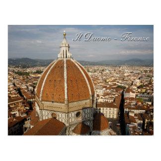 Ilの大教会堂-フィレンツェ ポストカード