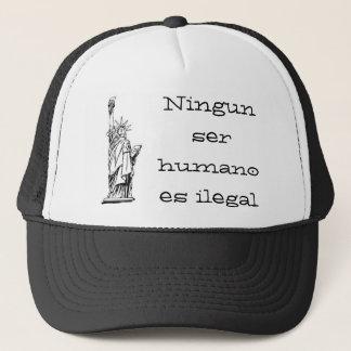、ilegal Ningunのserのhumano ES自由の女神 キャップ