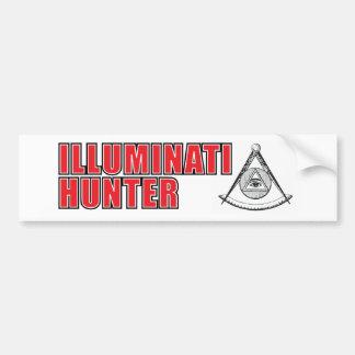 Illuminatiのハンターのバンパーステッカー バンパーステッカー