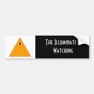 Illuminatiのバンパーステッカー バンパーステッカー