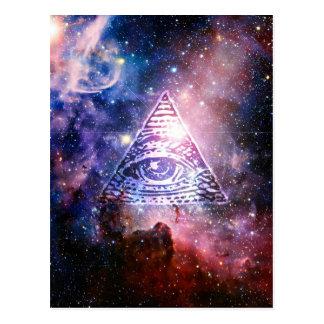 Illuminatiの星雲 ポストカード