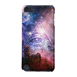 Illuminatiの星雲 iPod Touch 5G ケース