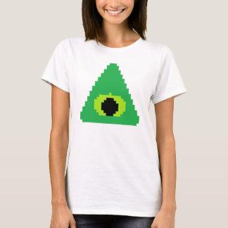 Illuminatiの8ビット記号を向くこと Tシャツ