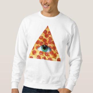 Illuminatiピザ スウェットシャツ