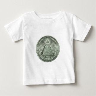 Illuminati -すべての見る目 ベビーTシャツ