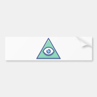 Illuminati バンパーステッカー