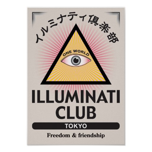 Illuminati Club Poster-01 ポスター