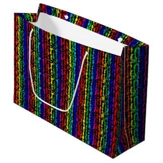 Illusional虹 ラージペーパーバッグ
