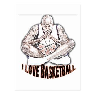 ILoveBasketballポイント ポストカード