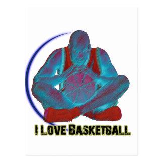 ILoveBasketball裁判所の視野 ポストカード