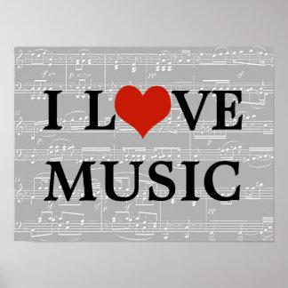 ilovemusic ポスター