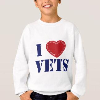 ilovevetszazzle スウェットシャツ