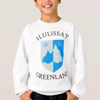 Ilulissatの紋章付き外衣 スウェットシャツ
